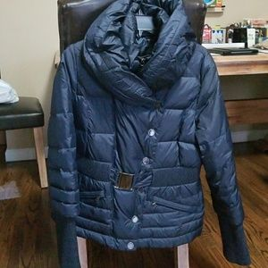 Tahari coat (Navy)